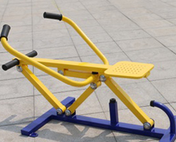 outdoor fitness equipment manufacturer outdoor handle boat from factory